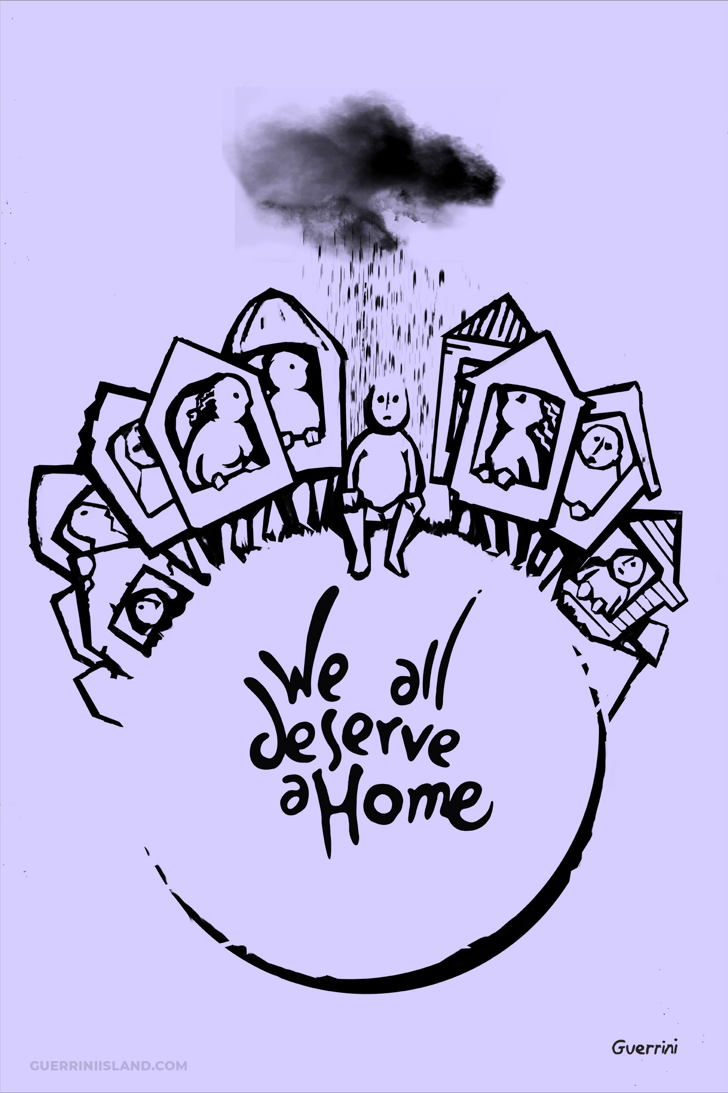 """We all deserve a home"" by Sebastian Guerrini"