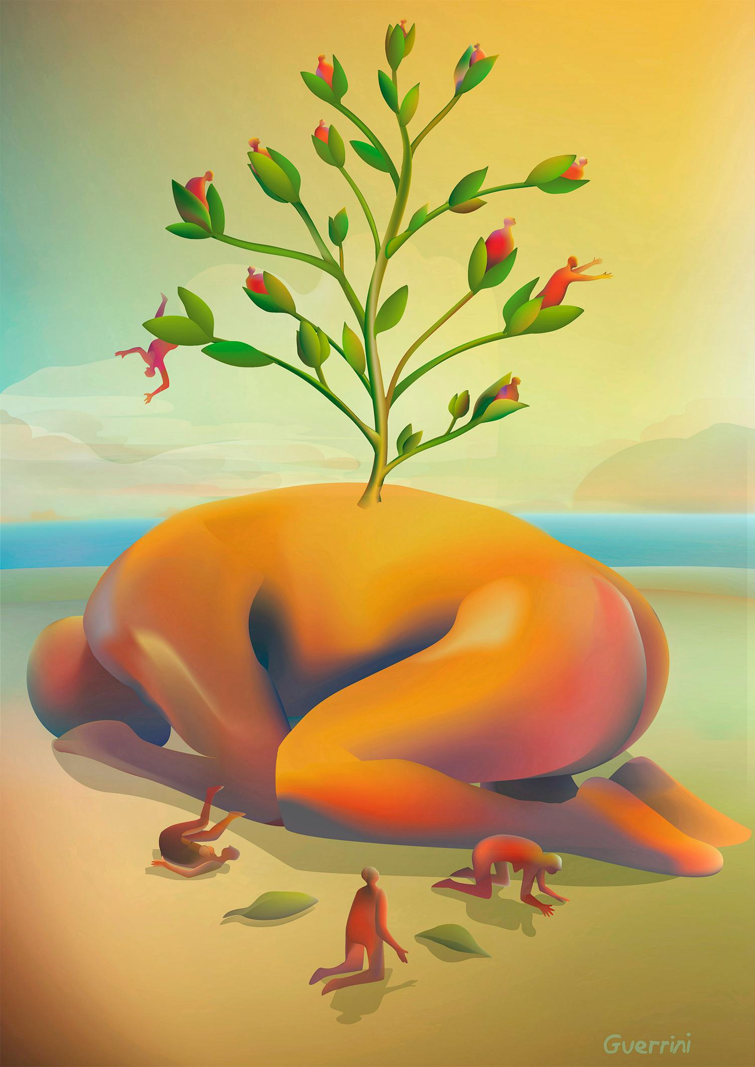 Creativity blossom